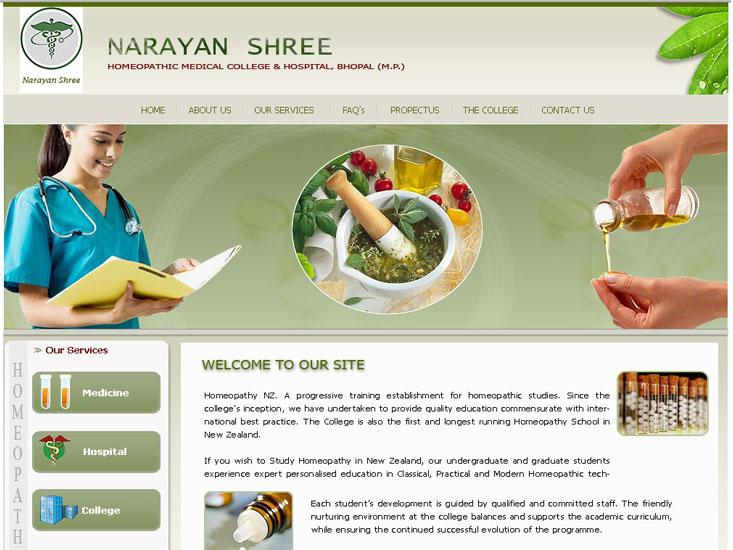 Hospital Website - Nshmc