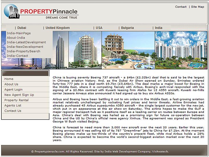Real Estate Web Development Portfolio Realty Websites